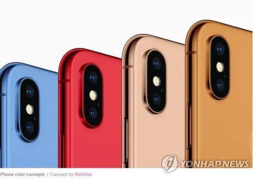 베일벗는 아이폰 신제품 3종…안면인식 페이스 ID 기능 탑재
